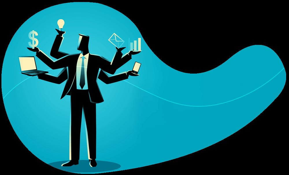 Empreendedor iniciante que deseja aperfeiçoar suas habilidades profissionais