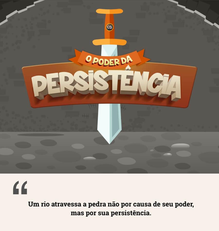 Infográfico Persistência - Loop de Sucesso