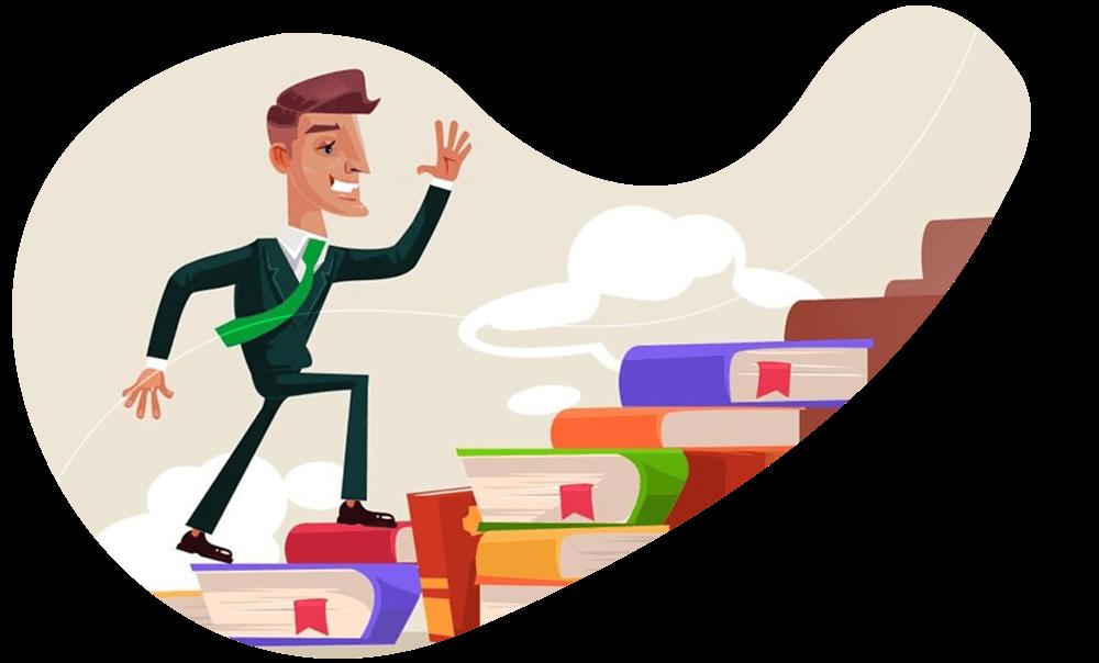 O hábito de leitura pode ser um grande aliado para a sua jornada.