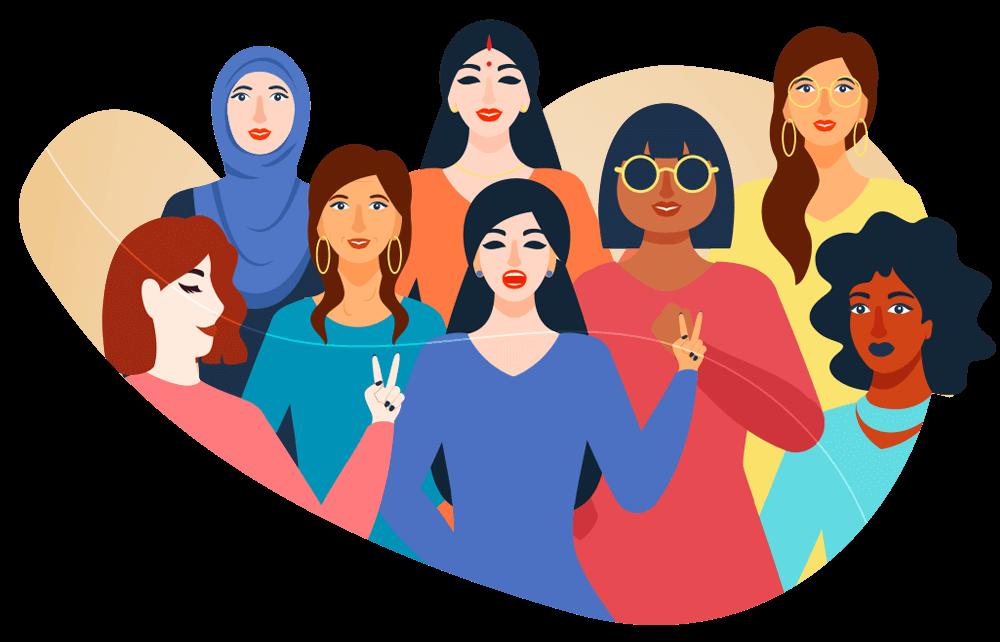 A diversidade é uma característica da mulher no mercado de trabalho