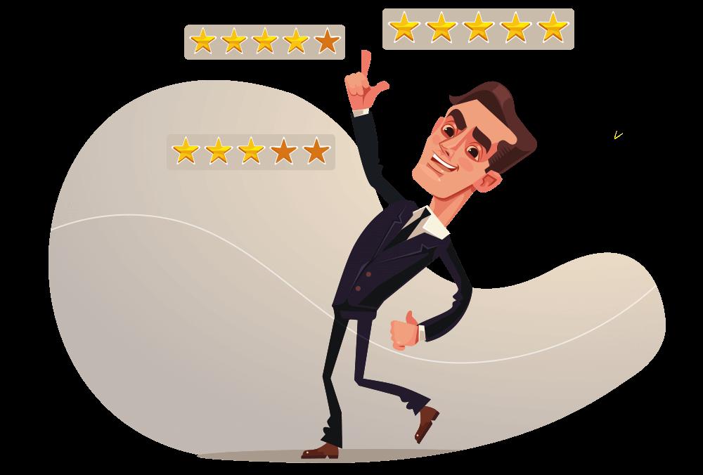 Feedbacks te ajudarão a modelar sua ideia e buscar alta performance no seu negócio.