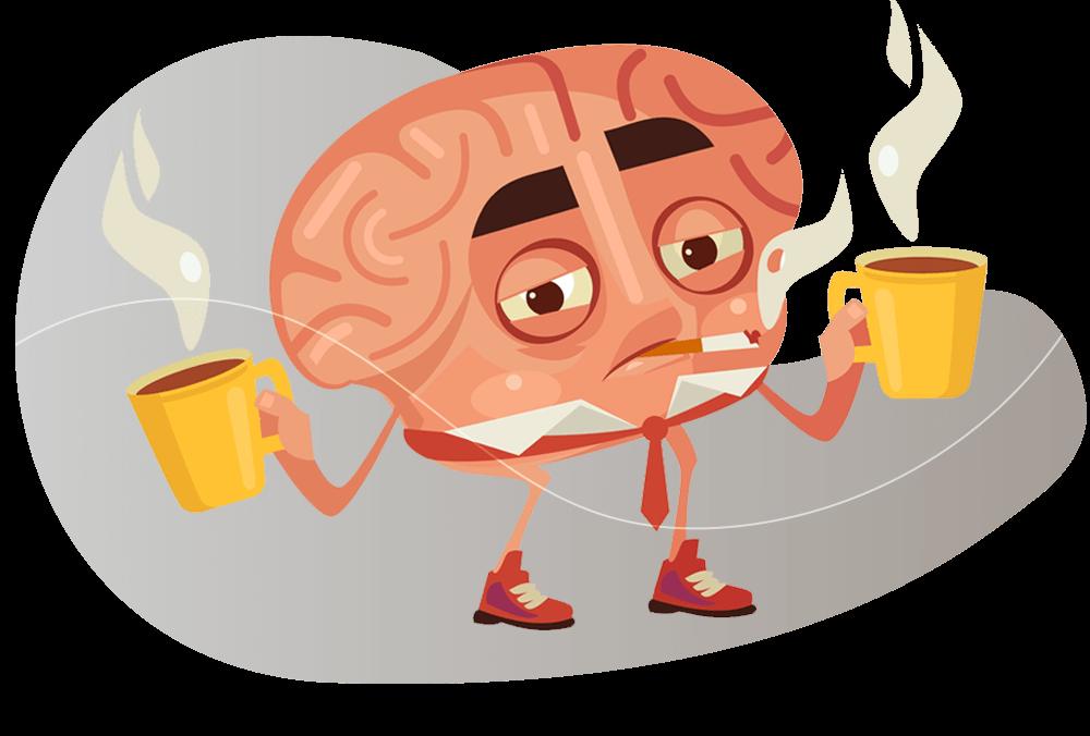 Cérebro ativo pela noite causa ansiedade e diminiu a energia matinal