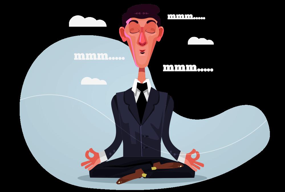 A meditação pode ser o antídoto para a meditação