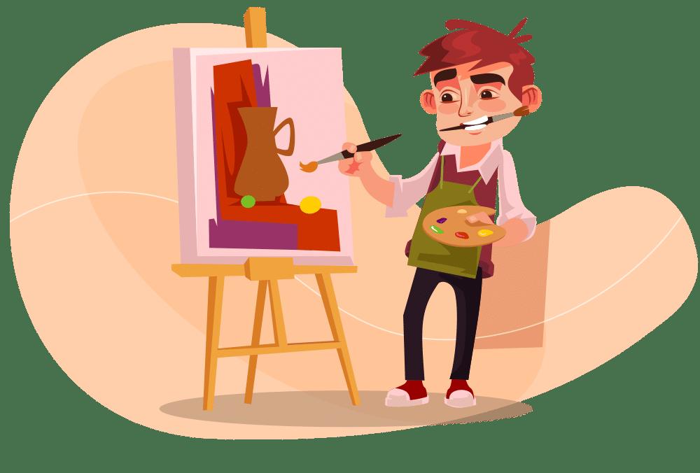 A criatividade é o processo de desenvolver algo novo