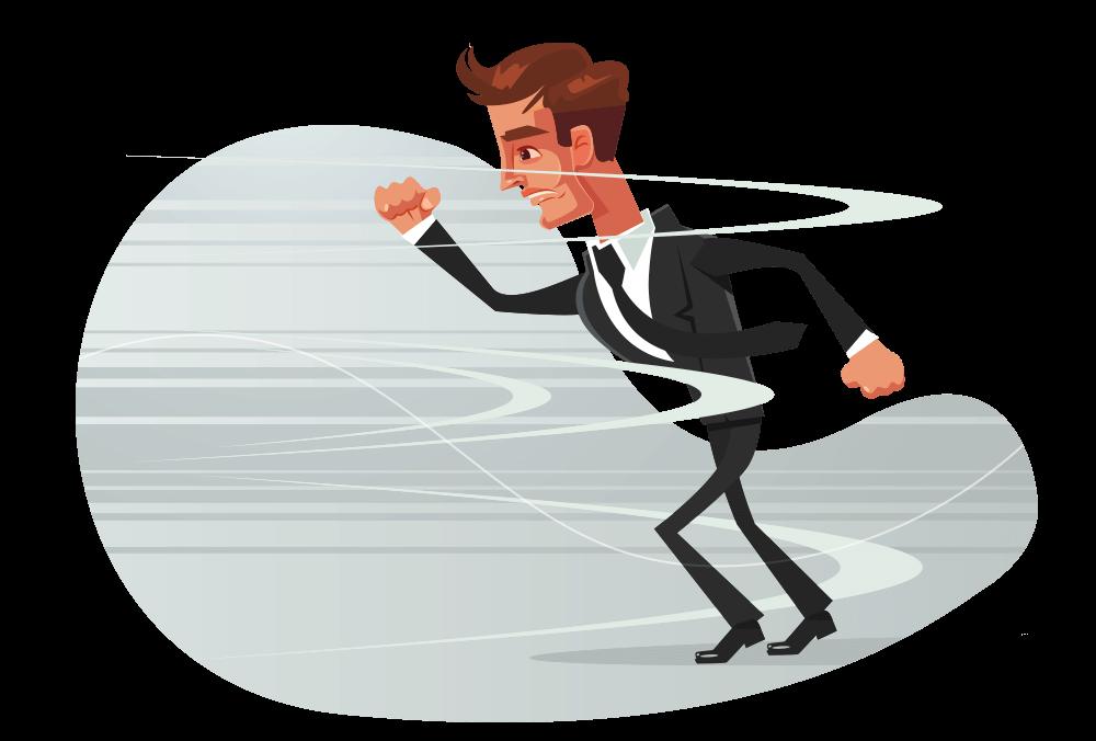 Equilibre o ritmo da sua rotina para diminuir o pensamento acelerado