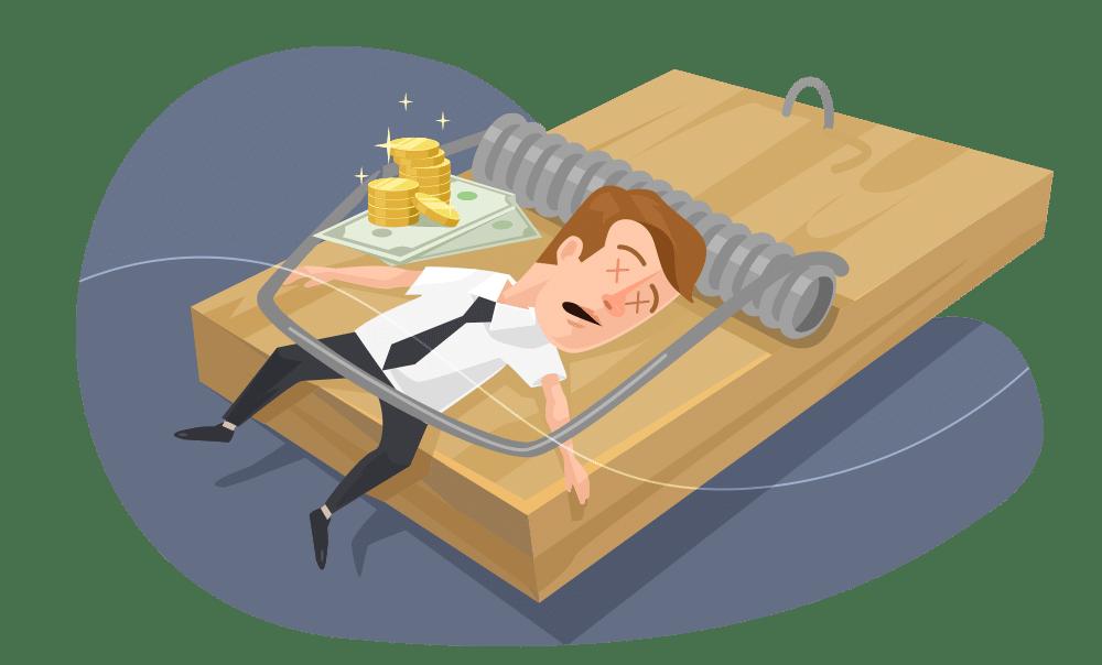 O medo de investir em coisas não materiais