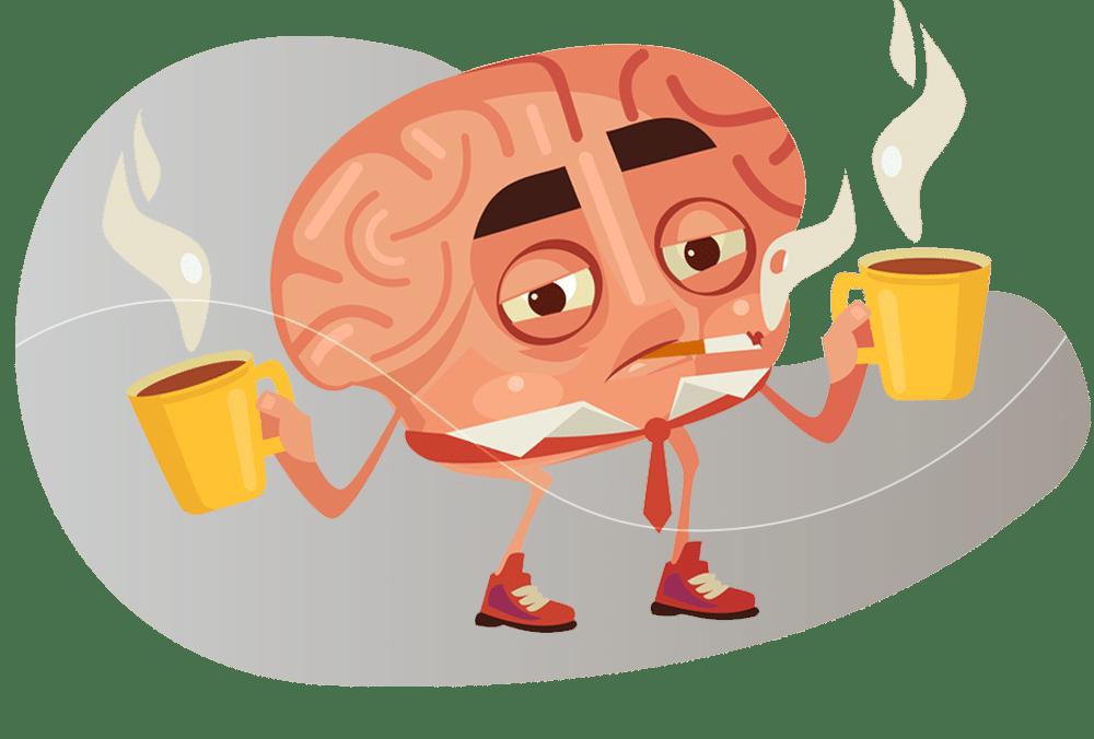 Principais sintomas do pensamento acelerado
